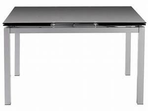 Table Extensible Conforama : table tokyo 3 extensible plateau verre coloris noir sur ~ Melissatoandfro.com Idées de Décoration