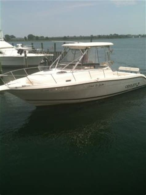 Century Boats For Sale In Nj by 2001 32 Foot Century Yamaha Walk Around Power Boat For