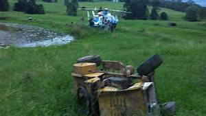 Boy critical after crashing go-kart made from ride-on ...