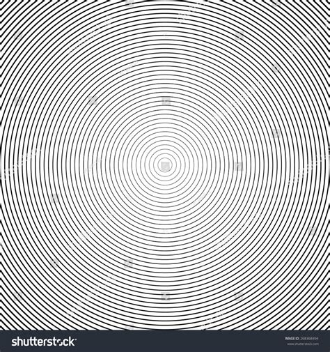 Abstract White Circle Black Background by Concentric Circle Elements Backgrounds Abstract Circle