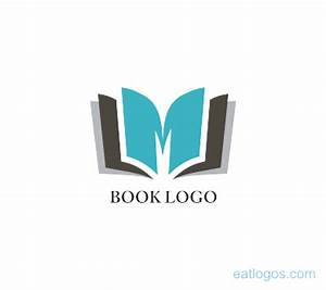 M letter with book logo design download | Vector Logos ...