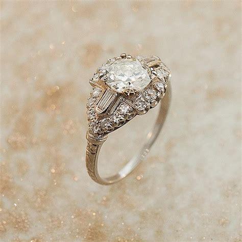 1930s wedding rings engagement photos 1930s engagement ring 2030721 weddbook