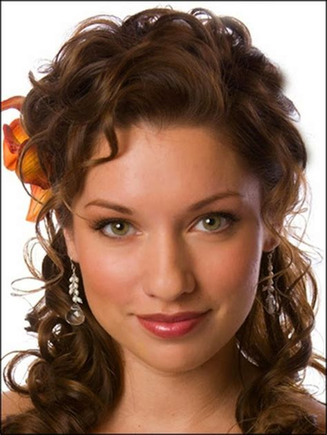 top  easy stylish updos  curly hair hairstyles hair