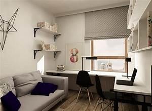 amenagement bureau a la maison en 52 idees decoratives With bureau de maison design