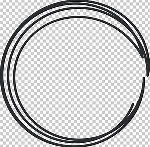 Black And White Circle Rim Area Pattern PNG, Clipart ...