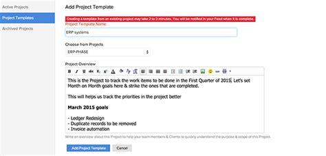 zoho creator templates templates help zoho projects