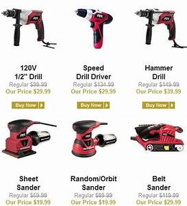 DEAL on Name Brand Power Tools - FLASH SALE