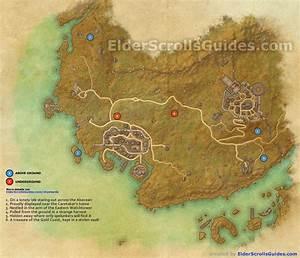 Gold Coast Skyshards Map Elder Scrolls Online Guides