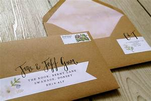 Handsome hand lettering laura likes for Wedding invitations handwritten or labels