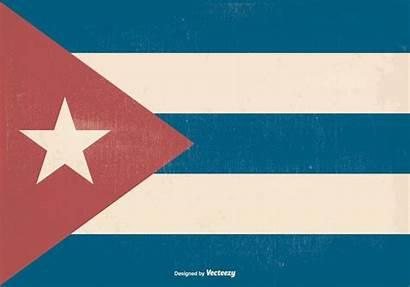 Cuba Retro Flag Vector Edit