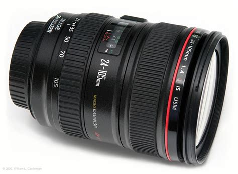 163 699 canon 24 105mm f4l is ef usm af wide angle tele zoom lens