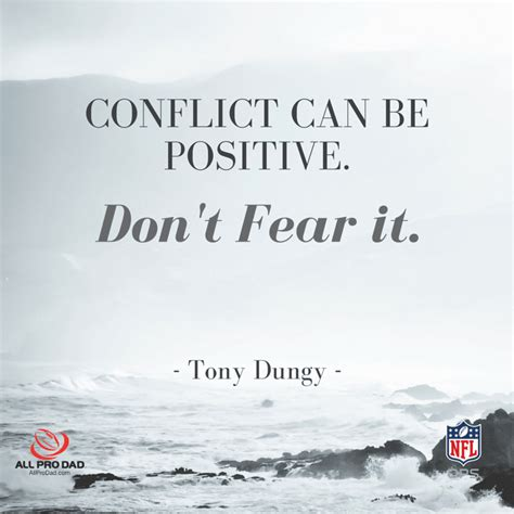 conflict   positive tony dungy  pro dad