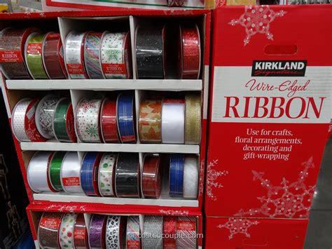 kirkland signature wire edged ribbons