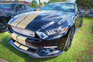 2016 Ford Hertz Shelby Mustang Gt-h 109 Photograph by Rich Franco