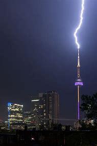 CN Tower Lightning