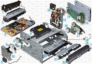 Parts Diagram For Laserjet 5200