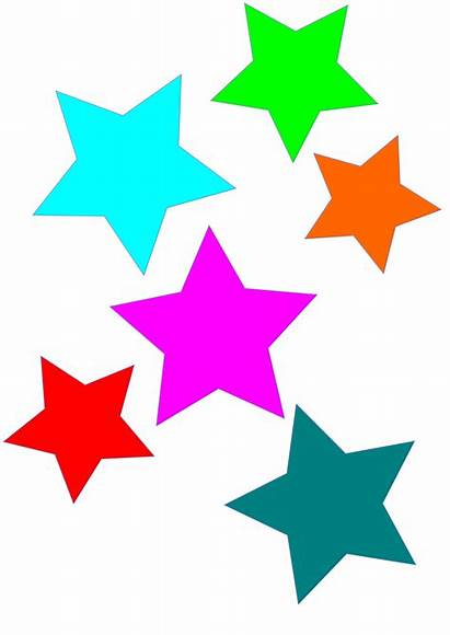 Clipart Colorful Stars Star Colors Clip Clipground
