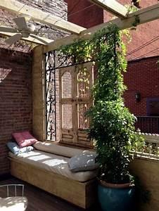 Sichtschutz Fr Terrasse Und Balkon Drauen Versteckt