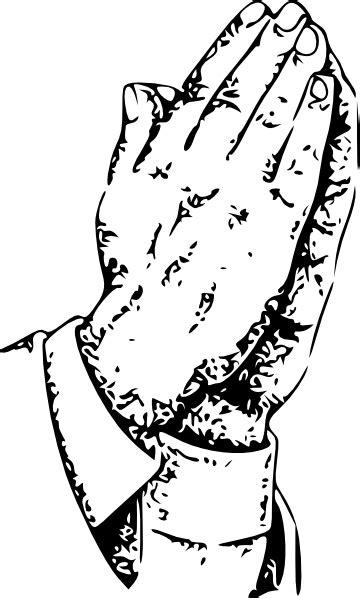 Praying Hands Clip Art at Clker.com - vector clip art