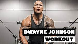 Dwayne Johnson - The Rock - Workout for Baywatch 2017 ...