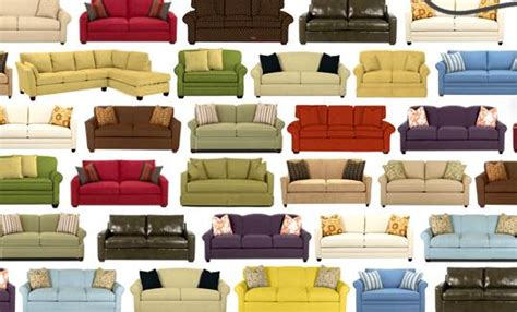 choosing  leather  fabric couches  wall