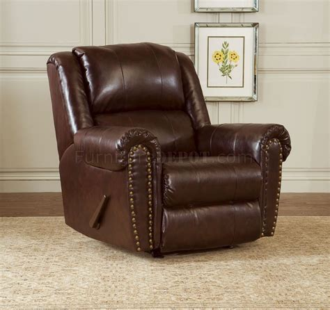 Sofa And Chair Set by Cognac Brown Bonded Leather Sofa Chair Set W Reclining Seats