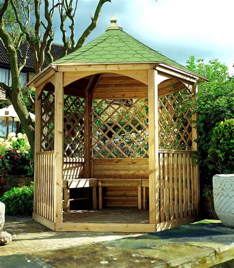 Small Gazebo by Small Wooden Gazebo With Sides Panel