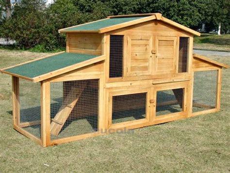 costruire gabbia coniglio gabbia per conigli in legno da esterno nuova consegna
