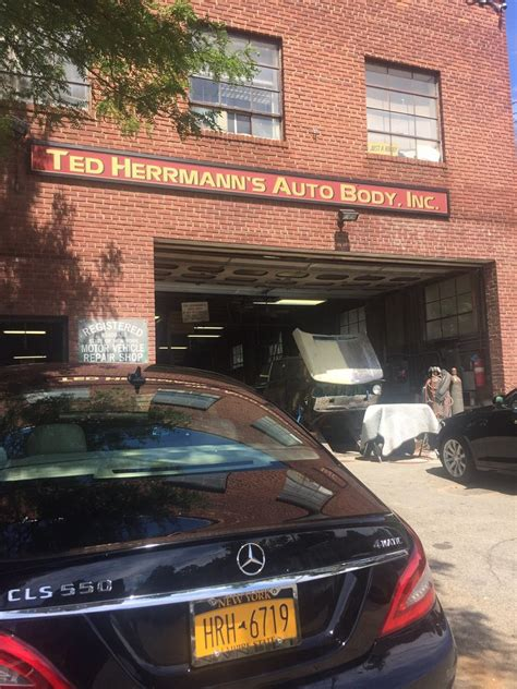 ted herrmanns auto body body shops  summerfield st