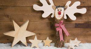 Elch Aus Baumstamm elch basteln tierische weihnachtsdeko sat 1 ratgeber