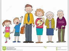 Family stock illustration Illustration of parent, child