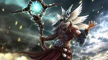 Fantasy God Magic Magician Sorcerer Nature Warrior
