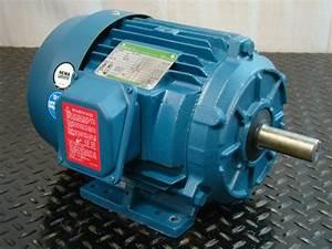 Ao Smith Century Ii 3hp Electric Motor 230  460v 3 U00d8 3505rpm T57004