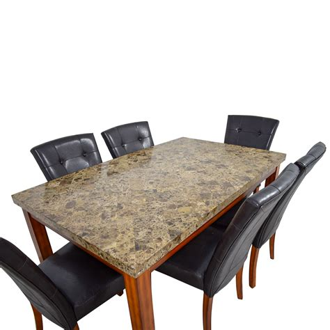 Bobs Furniture Kitchen Table Set by 69 Bob S Furniture Bob S Furniture Faux Marble