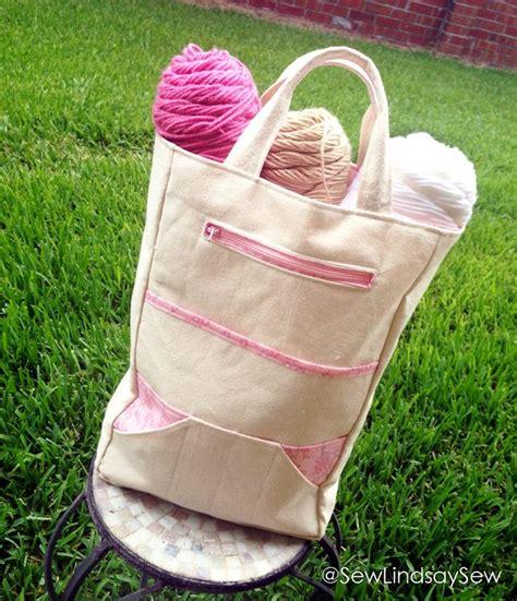 lindsays   knitting bag knitting bag pattern bags knitted bags