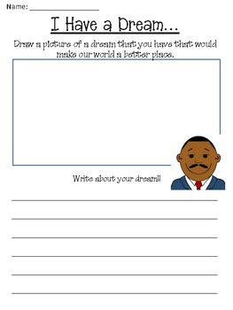 martin luther king jr day freebie by