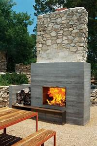 33 Gorgeous Outdoor Fireplaces That Make Your Terrace