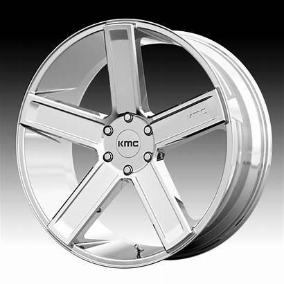 Kmc Wheels Chrome Rims Deuce Custom Brand
