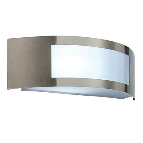 modern curved stylish outdoor garden wall light e27