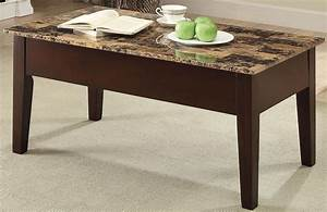 dusty ii finely light brown faux marble lift top coffee With light marble coffee table