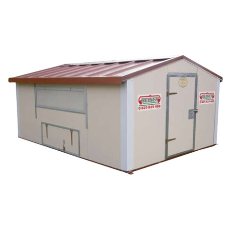 chambre froide en kit beiser environnement poulailler ou bâtiment mobile pour