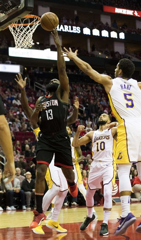 Rockets get past Lakers in double overtime to end losing ...