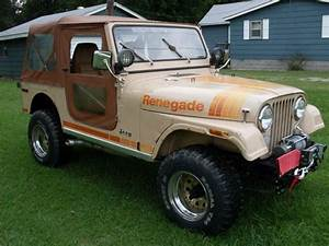 Sell Used 1980 Jeep Cj7 Renegade V8 Auto Low Miles In Metropolis  Illinois  United States