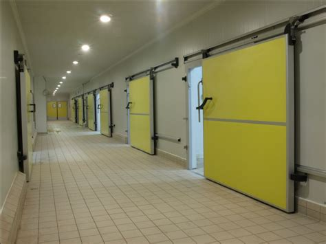 cooling systems chillers cold room doors cold store panels