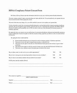 hipaa consent forms simple hipaa release form sample With hipaa compliance document template