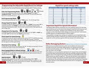 Xbox One Rapid Fire Instructions V2