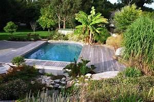 Plantes Vivaces Autour D Un Bassin : photo r novation d 39 un bassin artificiel en piscine ~ Melissatoandfro.com Idées de Décoration