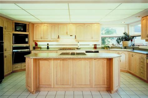 wooden kitchen cabinets what paint goes with pickled oak cabinets hunker 29466