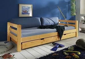 Bett Für Zwei Kinder : jugendbett zum ausziehen aus massivholzbett kids paradise ~ Sanjose-hotels-ca.com Haus und Dekorationen