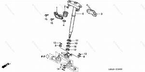 Honda Atv 2006 Oem Parts Diagram For Steering Shaft